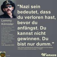 Ruhe in Frieden Lemmy...
